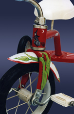 tricycle custom painted